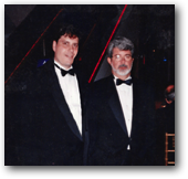 Joe Mozian and George Lucas