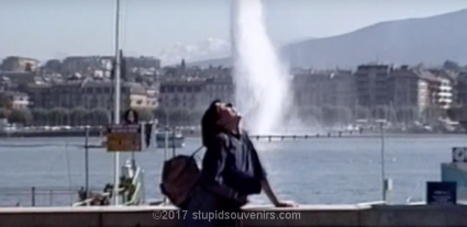 Jet d'eau in Geneva Switzerland.