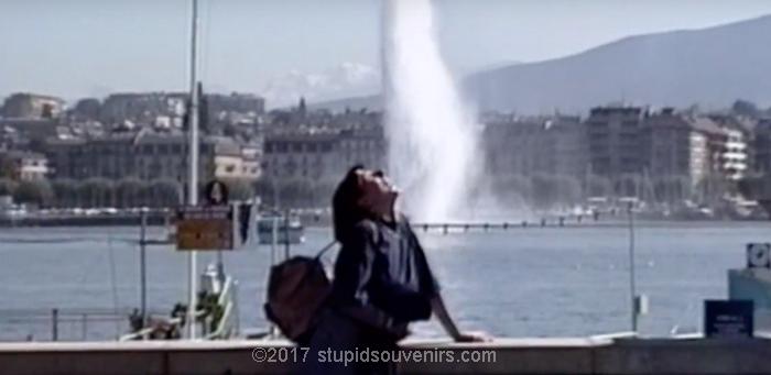 Jet d'eau in Geneva Switzerland.