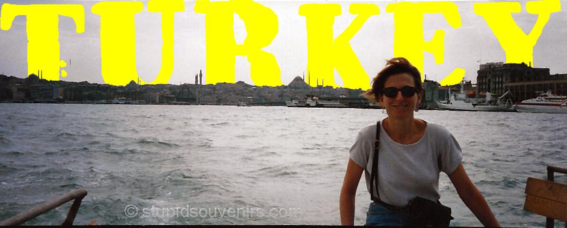 Near death boat ride on the Bosporus.